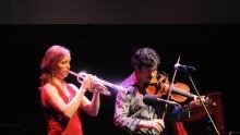 Merrie Klazek and Pierre Schryer
