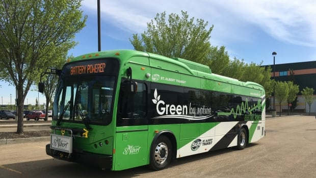 St. Albert recently introduced long-distance electric buses. The city now wants to partner with Edmonton on some bus routes.