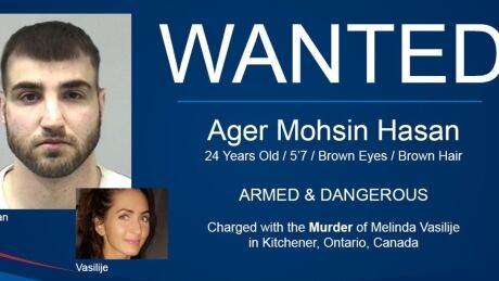 Wanted social media campaign ager hasan melinda vasilije
