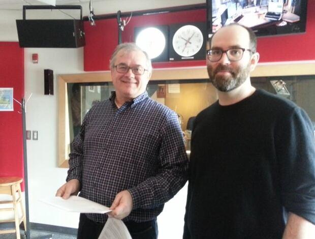 Ken Snelgrove and Joel Finnis MUN professors Nalcor