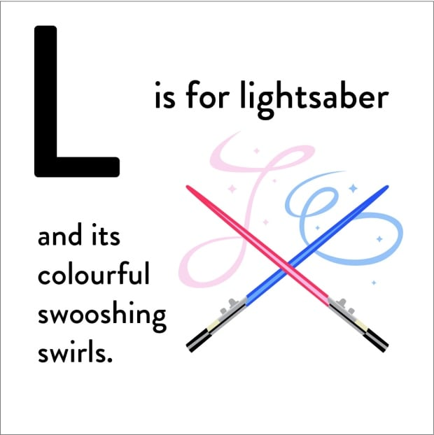 L-for-Lightsaber