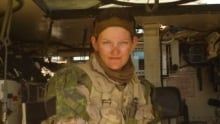 Jessica Wiebe in Afghanistan