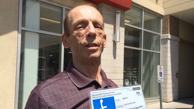 Rod Lightheart, who has a disability, told CBC Toronto that he supports the idea of putting photos on accessible parking permits, saying that he's seen others abuse the limited number of spots available.