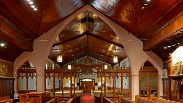St. Jude's Anglican Church in Brantford, built in 1871, is up for sale with an asking price of $399,999, after being previously listed for $1.