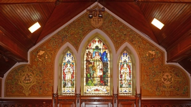 The church was built nearly 150 years ago and is designated as a national heritage site, a prime example of the 1930s-era Arts-and-Crafts decor style. The city of Brantford wants to add protections for the architecture and the artwork.