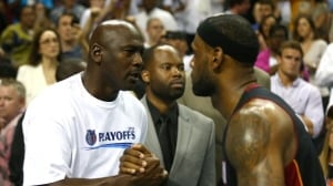 LeBron James says Jordan chase about motivation, not greatness