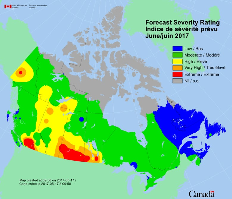N W T S 2017 Fire Season Should Be Relatively Quiet After June