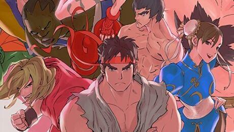 Ultra Street Fighter 2 box art