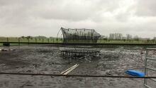Lacombe trampoline