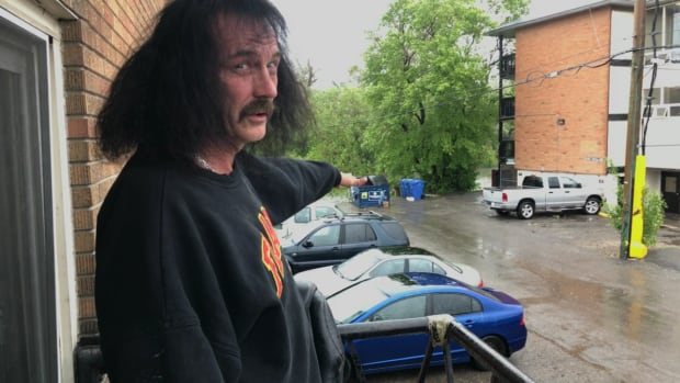 Shayne Corey can see the Elbow River from his apartment balcony and lived through flooding twice in 10 years. He thinks the flood information kits recently handed out by the City of Calgary are a good idea.