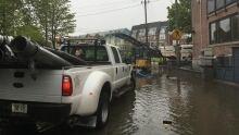Kew Avenue flooding