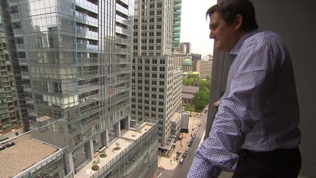 Owner Paul Ostiguy said partying by short-term renters is affecting quality of life in the building, and worries that will undercut property values in the Tour des Canadiens.