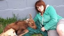 Brandi Calder moose