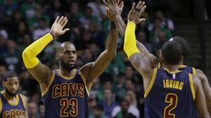 Cavs' LeBron James sets playoff scoring record in series-clinching win over Celtics