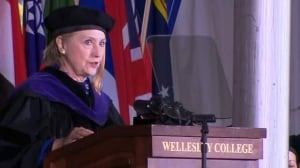 Graduating at a time when there is a full scale assault on truth and reason: Hillary Clinton