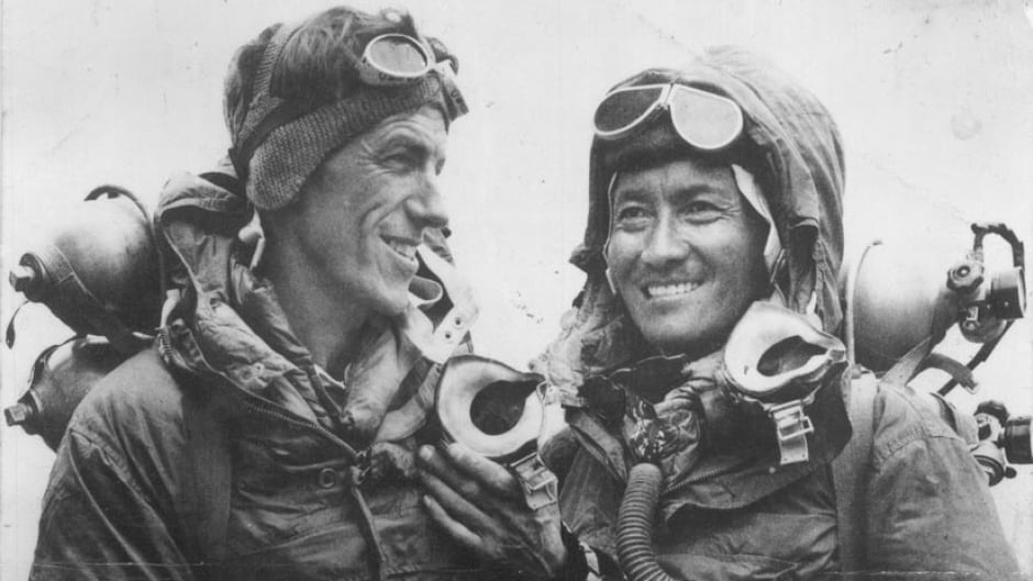 Sir Edmund Hillary and Sherpa guide Tenzing Norgay were the first climbers confirmed to have summitted Mount Everest in May, 1953.