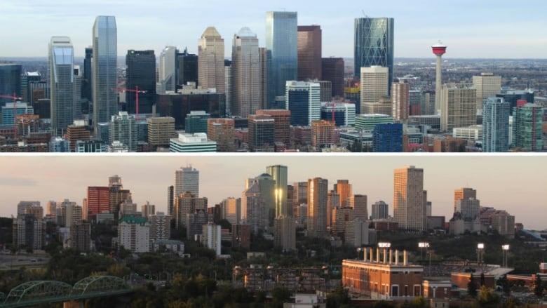 Median incomes plunge in Calgary, surge in Edmonton