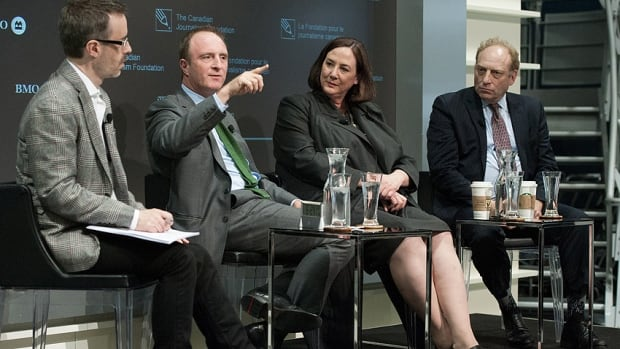Canadian Journalism Foundation - Public Broadcasting Panel