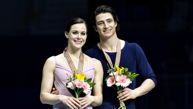 Olympic gold medallists Tessa Virtue, left, and Scott Moir will top the bill at Skate Canada International in Regina.