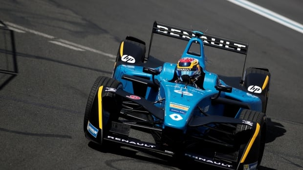 The Formula E race — the electric street-racing series — shows that even in high-speed racing, sophisticated electric engines are squeezing out fossil fuels.
