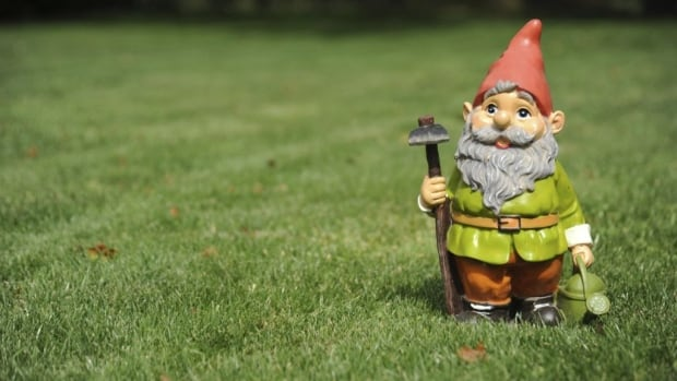 Martha Horne said her garden gnomes were stolen from her Leduc property during last Wednesday's windstorm.