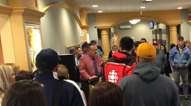 Cape Breton doctors' news conference