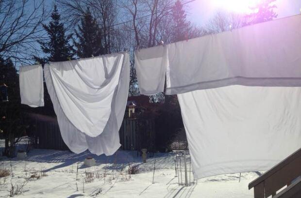 Creaky clothesline day