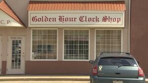 Golden Hour Clock Shop