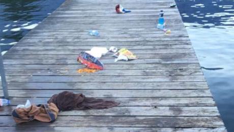 Cultus Lake garbage
