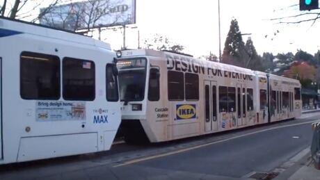 MAX train Portland