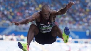 Canada's Damian Warner leads after Day 1 of prestigious Hypo Meet