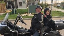 Xander gets a ride