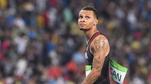 Andre De Grasse narrowly misses podium at Prefontaine Classic