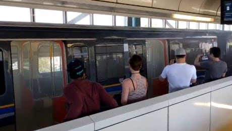 SkyTrain car evacuated after filling with unknown smoke