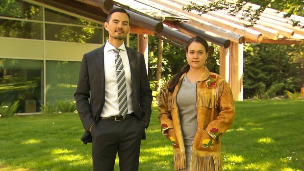 Mark Stevens and Carly Teillet, descendants of historic Métis leaders, met in their first 10 minutes of law school at UBC.