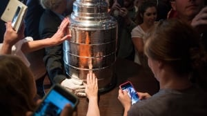 Stanley Cup trophy sure has grown up over the years