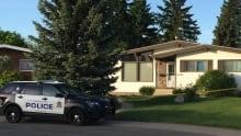 Suspicious infant death Edmonton