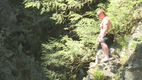 Lynn Canyon cliff jumpers can't resist thrill despite dire warnings