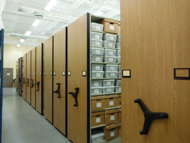 Archaeology lab