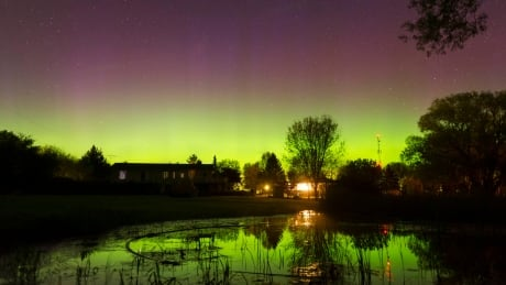 Keep an eye out for a chance of northern lights tonight