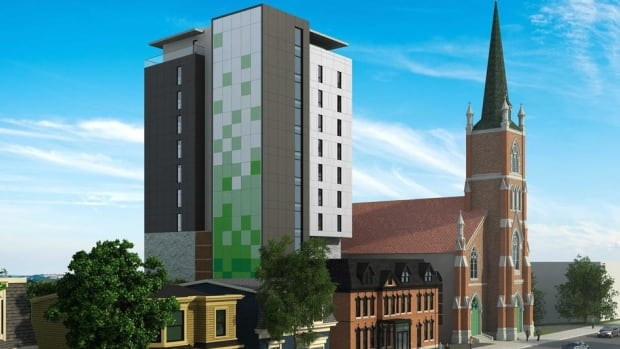 St. Patrick's proposed development