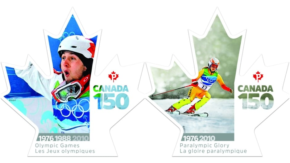 Canada 150 stamps - Olympic Games and Paralympic Glory