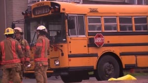 Man struck by school bus in Rosemont—La-Petite-Patrie in critical condition