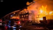 Mancini Way fire May 29, 2017
