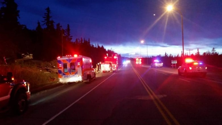 1 man dead after Alaska Highway collision in Whitehorse