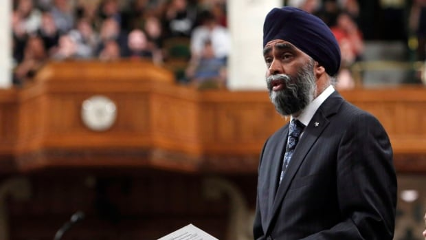 Defence Minister Harjit Sajjan wouldn't reveal details about the forthcoming competition, as Canada seeks to replace its aging fighter jets.