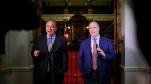 Horgan, Weaver hope to tread historic path in minority government