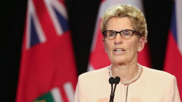 Ontario Premier Kathleen Wynne: 'People are working longer, jobs are less secure, benefits are harder to come by and protections are fewer and fewer.'