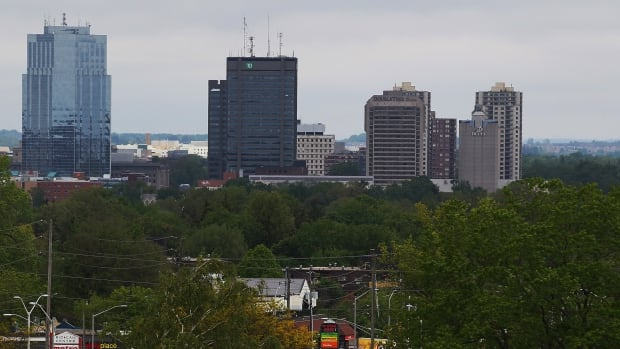 The London, Ont. skyline showing the TD Building.