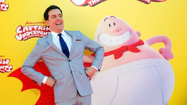 Actor Ed Helms attends the premiere of Captain Underpants: The First Epic Movie at the Regency Village Theater in Los Angeles. The book series is getting the movie treatment, nearly two decades after it was first released.